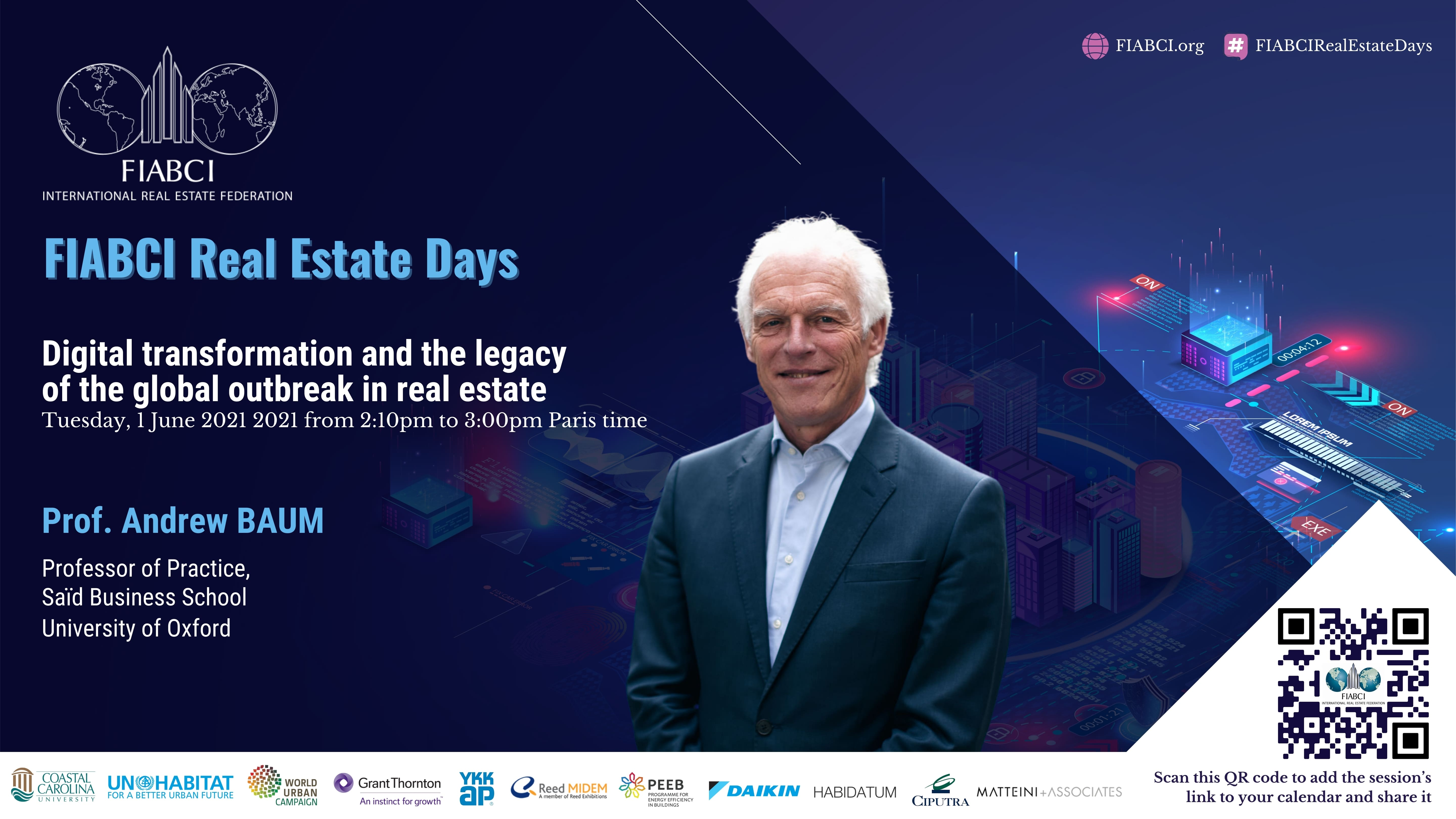 Day 1 - Tuesday 1 June FIABCI Real Estate Days