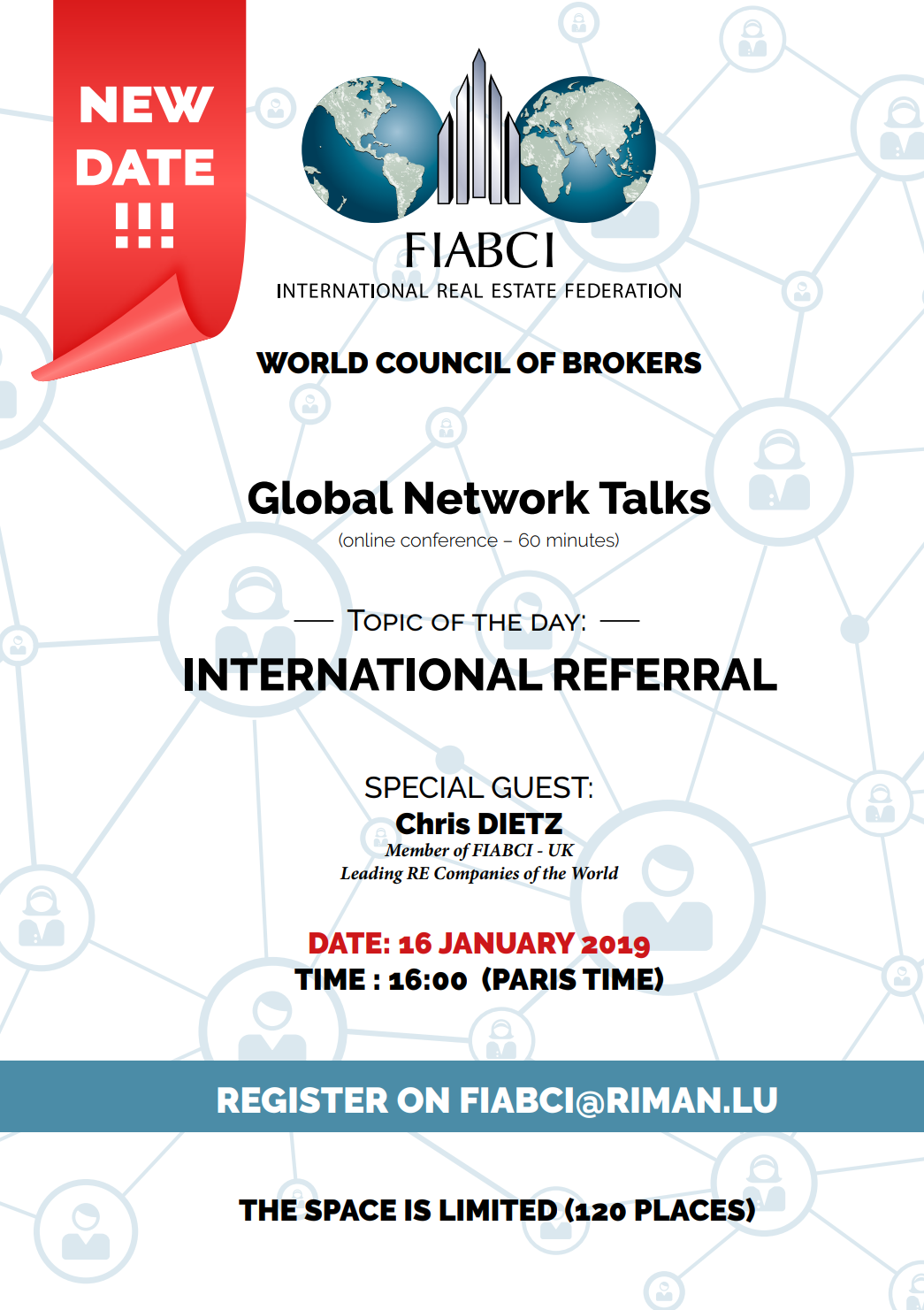 global network talks new date