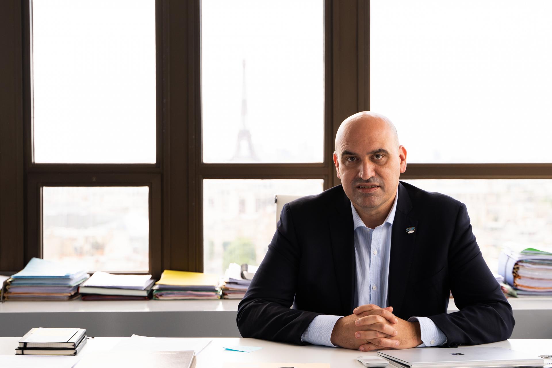 World President Jordi Ribó