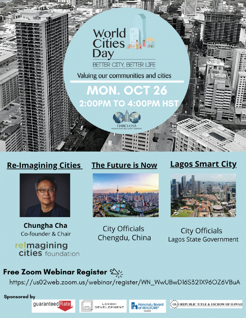 2020 World Cities Day