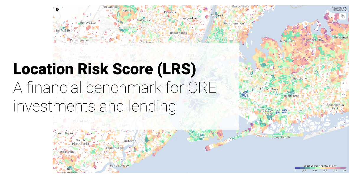 Measuring location risk for commercial portfolio management strategies